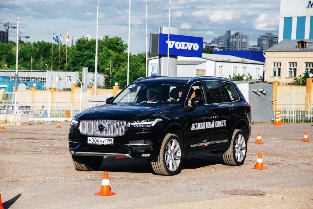 Тест-драйв нового Volvo XC90
