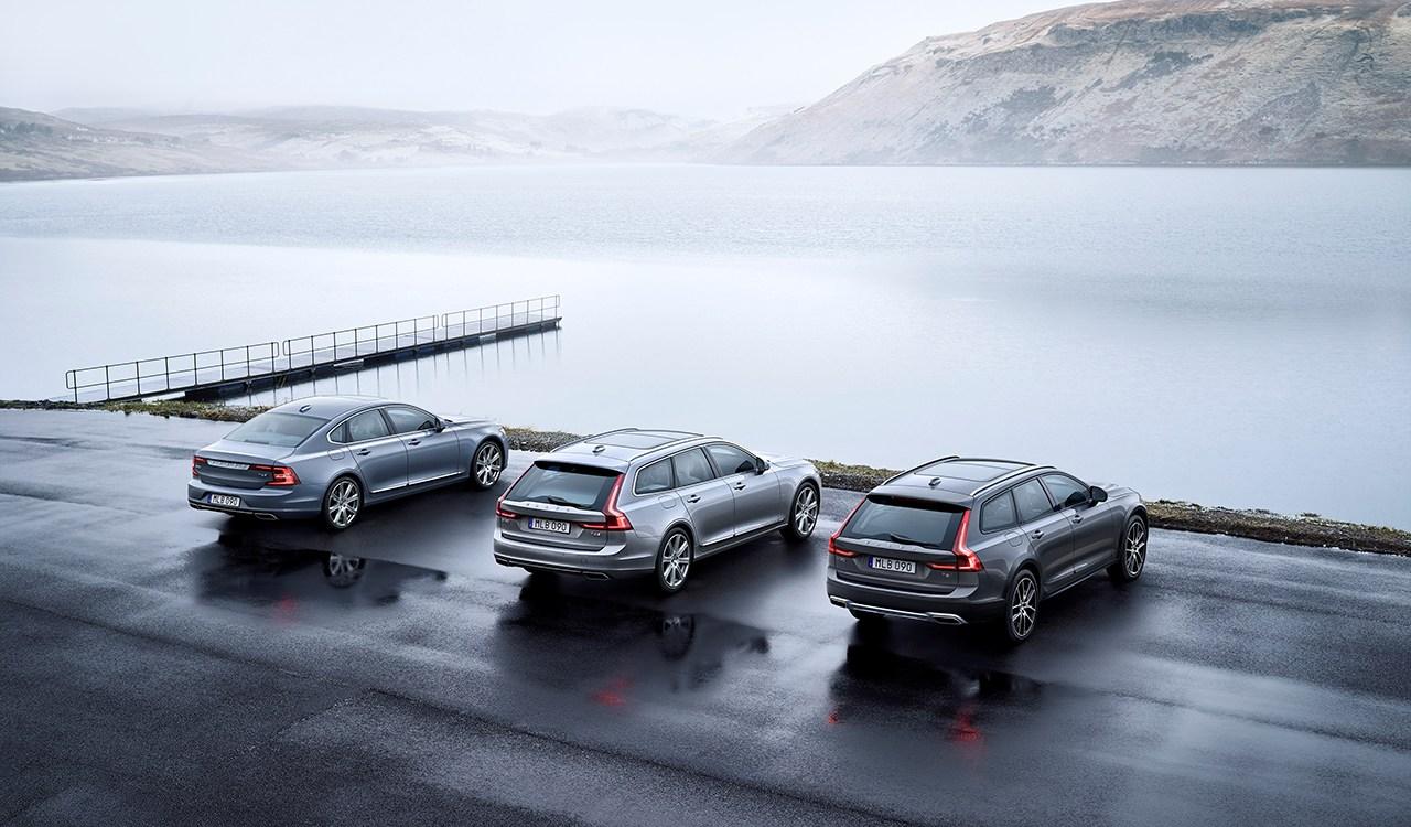 три типа кузова автомобиля вольво седан, универсал, внедорожник